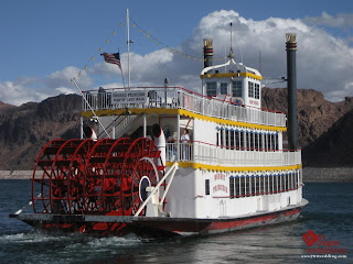 Mosaic Globe Travel the world RTW- Family Travel Cruise on Lake Mead in Las Vegas