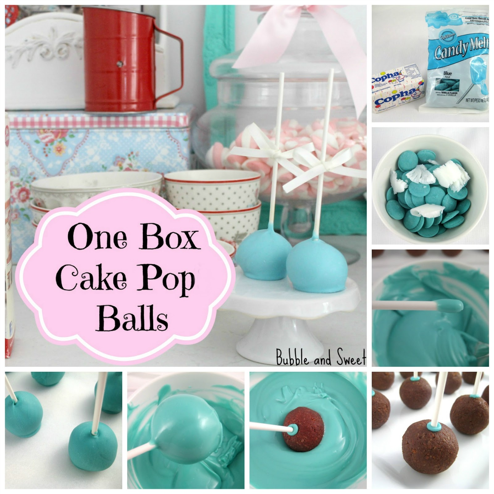 Bubble and Sweet: One Box cake pops - It doesn't get much ...