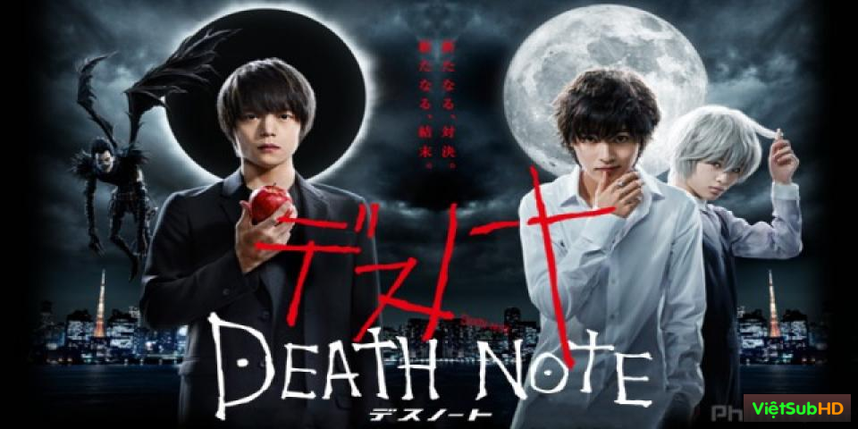 Phim Cuốn Sổ Tử Thần 2015 (live-action) Hoàn Tất (11/11) VietSub HD | Death Note 2015 (live-action) 2015