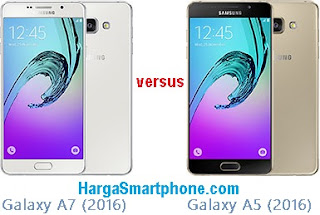 Harga dan Perbedaan Galaxy A7 (2016) dengan A5 (2016)