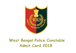 West Bengal Police Lady Constable Admit Card 2018