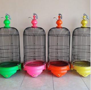 Sangkar Love Bird Radja Varian Warna
