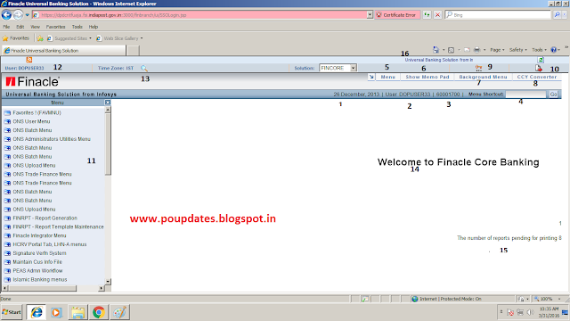 india post finacle training by poupdates