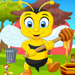 Games4King Honey Bee Rescue Walkthrough