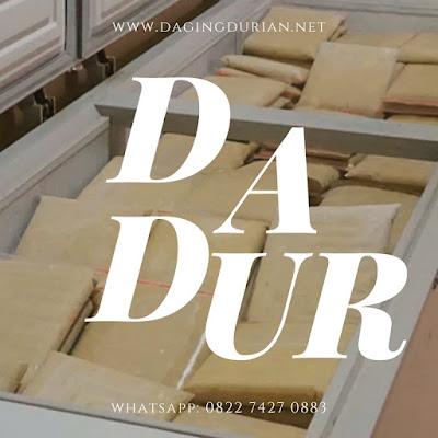 Daging Durian Medan Ternikmat di Palu