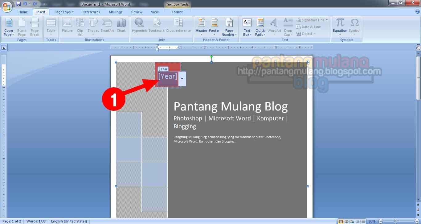 Cara Mudah Membuat Cover Makalah di Microsoft Word - Sipitek