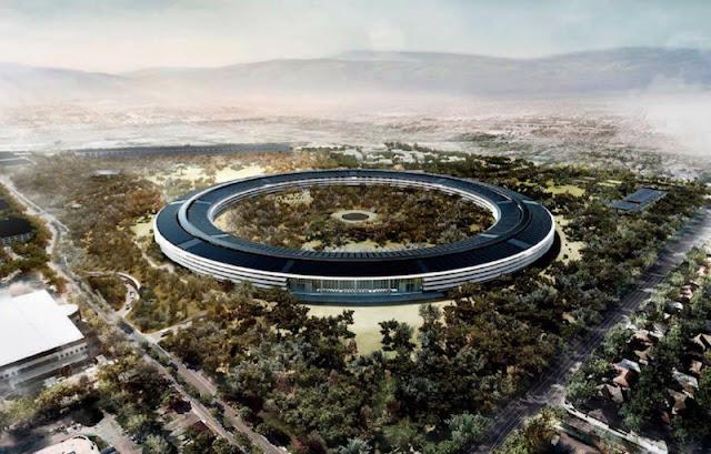 مقر شركة آبل Apple الجديد