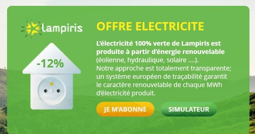 8 e ecologie economie energie electrique lampiris une lectricit verte. Black Bedroom Furniture Sets. Home Design Ideas