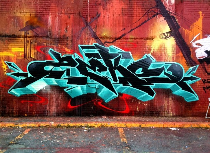 Cara Membuat Tulisan Grafiti Nama Sendiri Dengan Mudah Secara Online ( Pake HP )