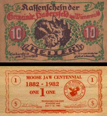 Uang Lembaran Kayu dari Jerman