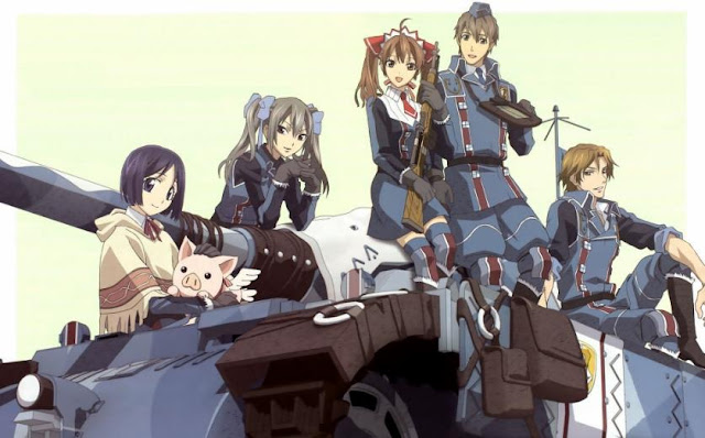 Valkyria Chronicles (Senjou no Valkyria) - Top Best anime by A-1 Pictures List