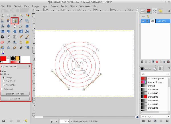 Planet debian derivatives untuk membuat gambar atau garis spiral berwarna dari path dapat dilakukan dengan klik stroke path pada tool options pada jendela pengaturan stroke path ccuart Gallery