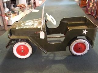 listed district 245 vintage jeep pedal car. Black Bedroom Furniture Sets. Home Design Ideas