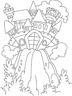 Fairy Tale Castle Coloring Pages - Colorings.net