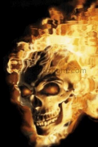Live wallpaper free skulls