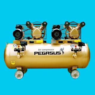 Máy nén khí dây đai Pegasus TM-V-0.25/12.5X2-230L