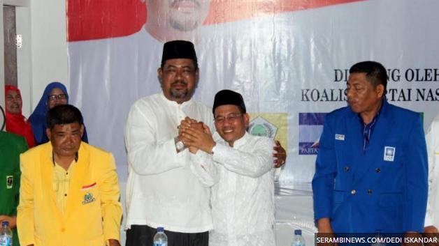 Alaidinsyah dan Kamaruddin Resmi Maju di Pilkada 2017