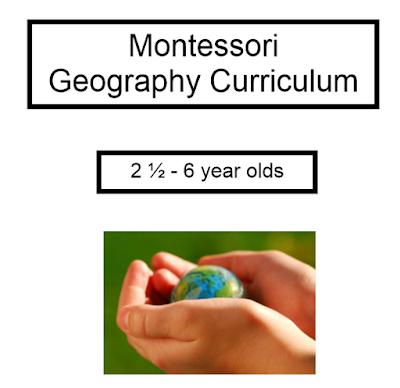 تحميل كتاب Montessori geography Curriculum