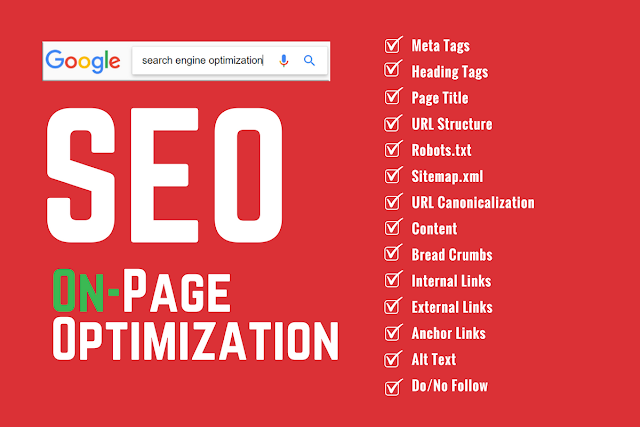 Search engine Optimization  - On Page Optimization