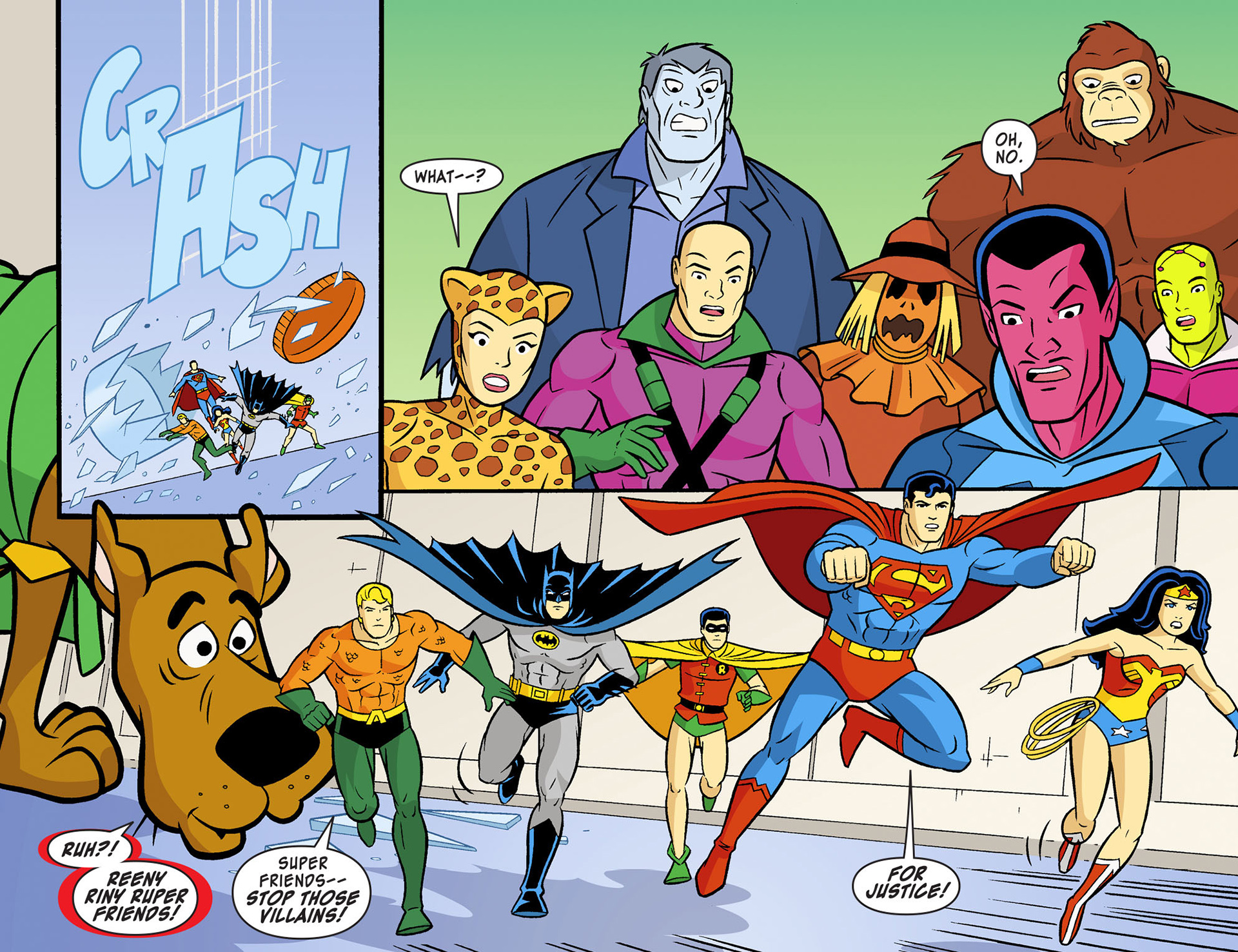 Read online Scooby-Doo! Team-Up comic -  Issue #12 - 13