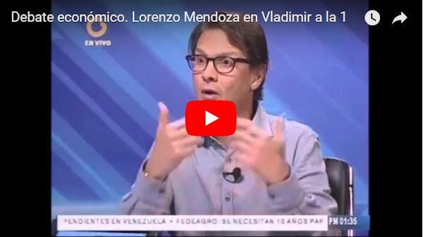 Lorenzo Mendoza NO se lanzará como candidato presidencial