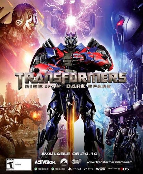 Transformers Rise of the Dark Spark PC Full Español