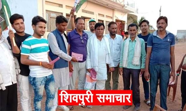 सिंधिया के समर्थन में ब्राह्मण समाज टीम डोर टू डोर कर रही जनसंपर्क | SHIVPURI NEWS