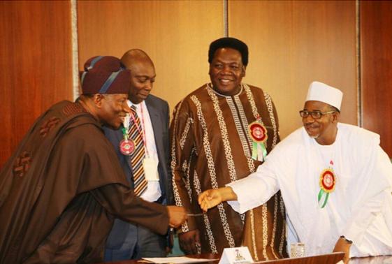 3 Photos: Nollywood Stars Visit President Jonathan At Aso Rock