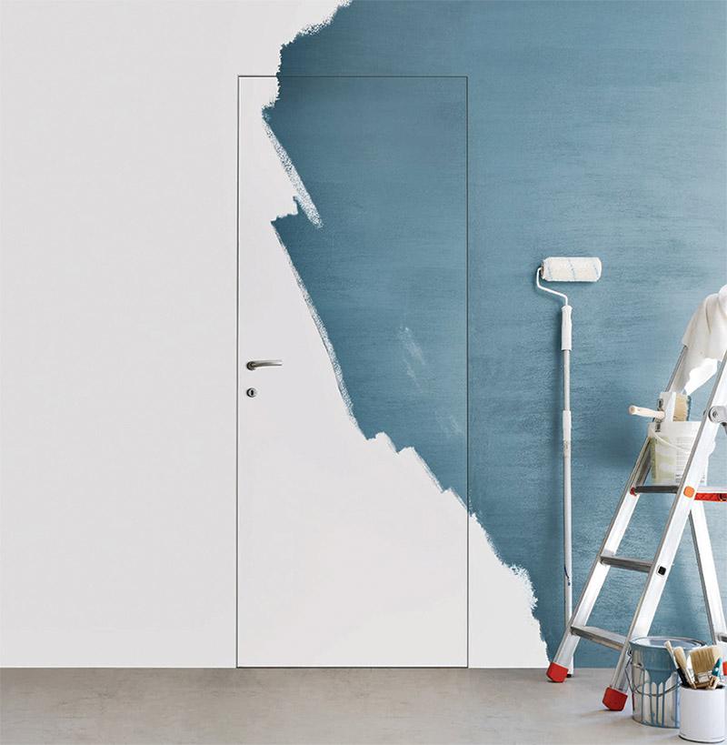 Come personalizzare le porte filo muro