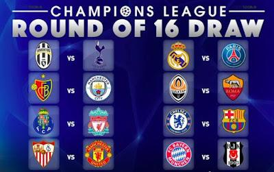Uefa Champions League Draw: Money duel! PSG vs Real Madrid (See Full Draws)