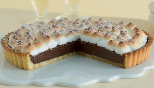 Tarta De Merengue De Chocolate