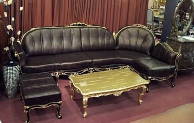 sofa sudut klasik