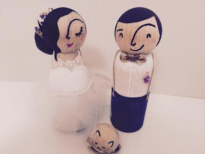 Muñecos de novios personalizados
