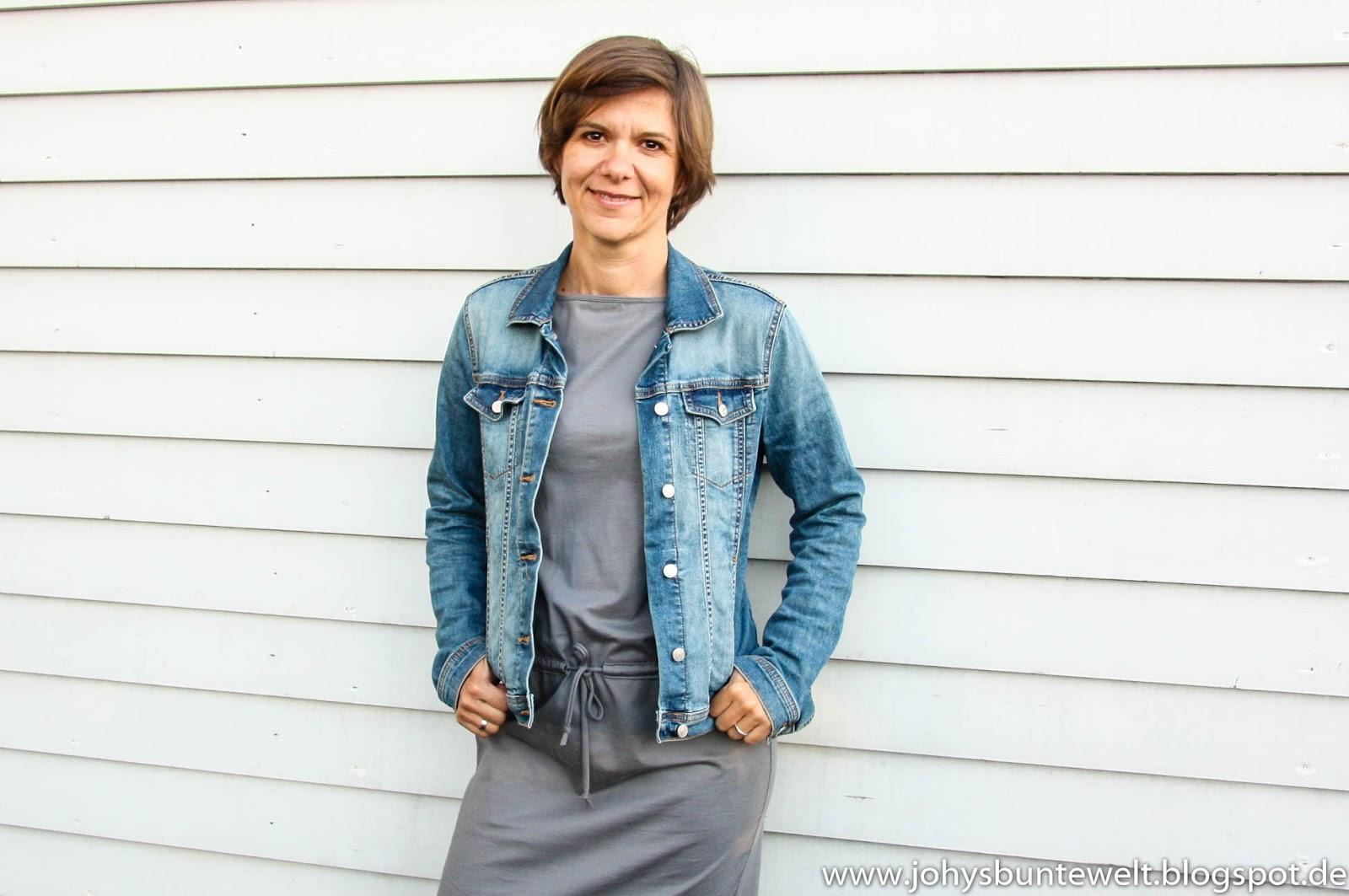 Jeansjacke nahen