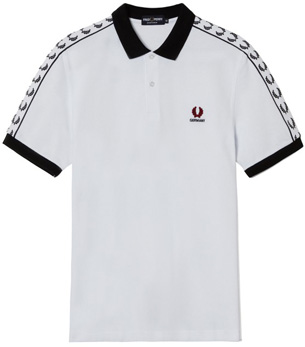camiseta polo Fred Perry Alemania Eurocopa 2016