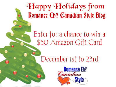 Happy Holidays! Enter to win $50 Amazon Gift Card @StaceyEspino @KaceyHammell @JSubject @KaliWillows @TDanielsAuthor @KMalcolmAuthor @LaynaPimentel #Giveaway #Christmas
