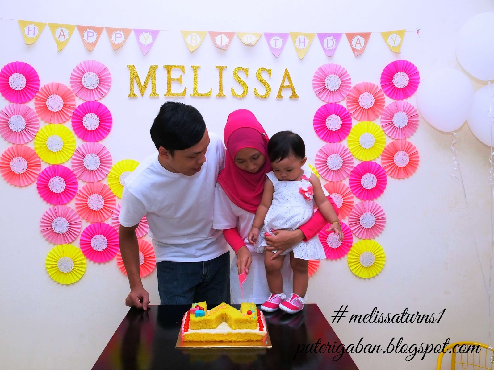 Enjoy Our Simple Birthday Party Picture Tak Edit Malas