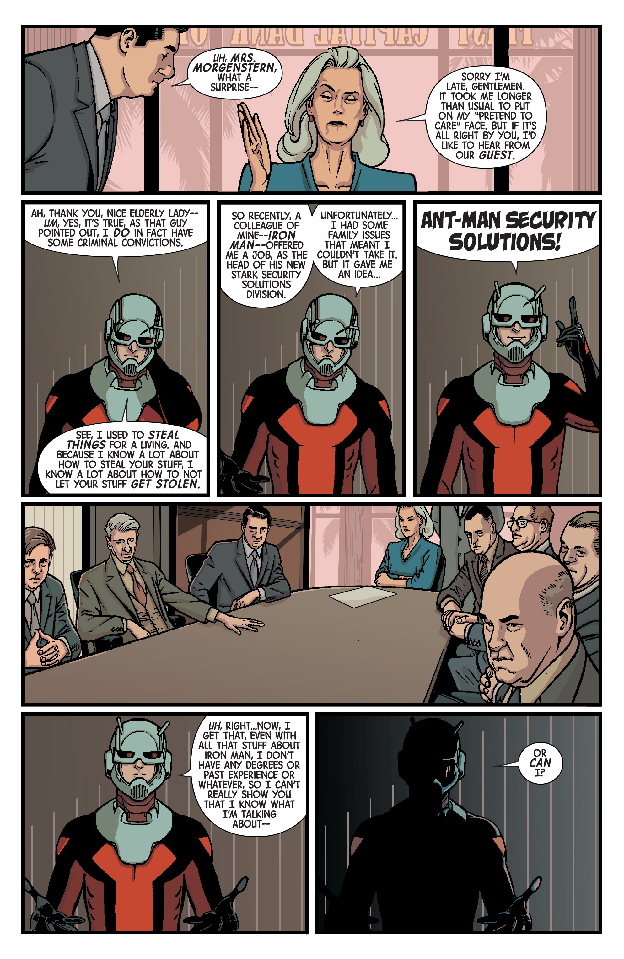 Read online Ant-Man comic -  Issue #2 - 8