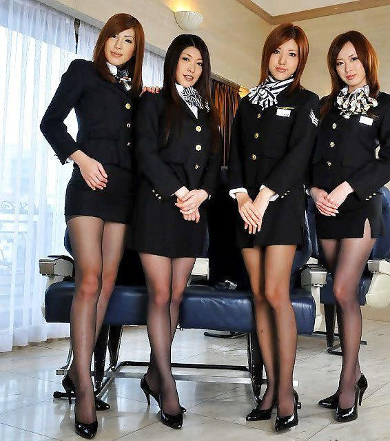 Flight Attendants Have To Wear Pantyhose