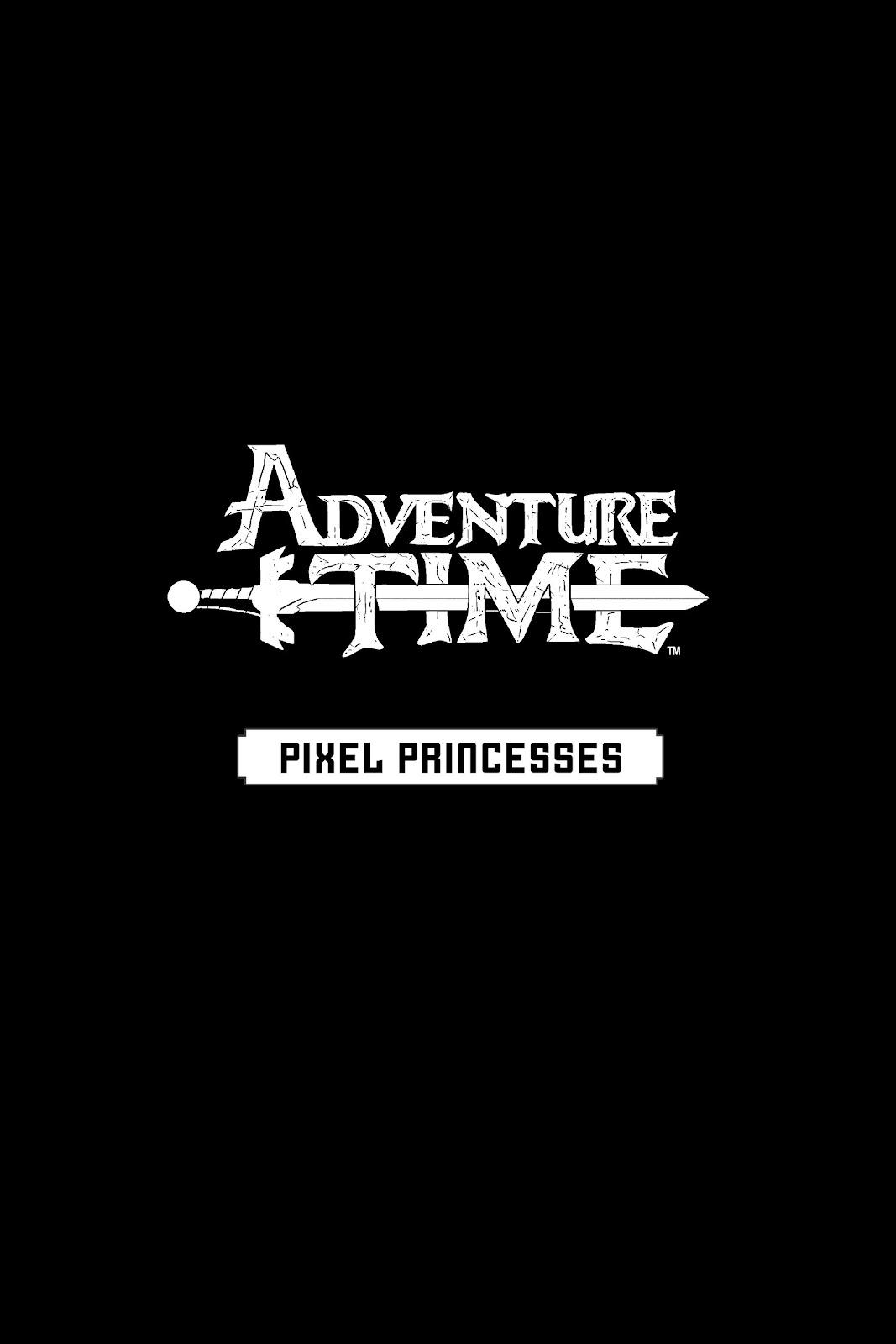 Read online Adventure Time: Pixel Princesses comic -  Issue # Full - 2