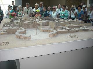 миниатюрная планировка Ватикана