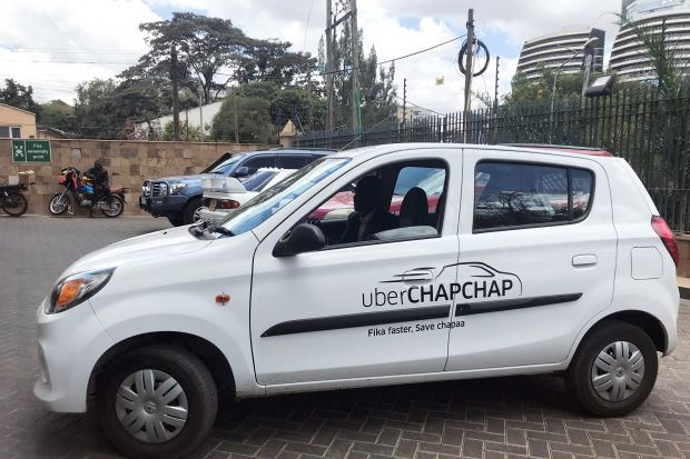 Uber to pushed further into East Africa with services like Chap Chap