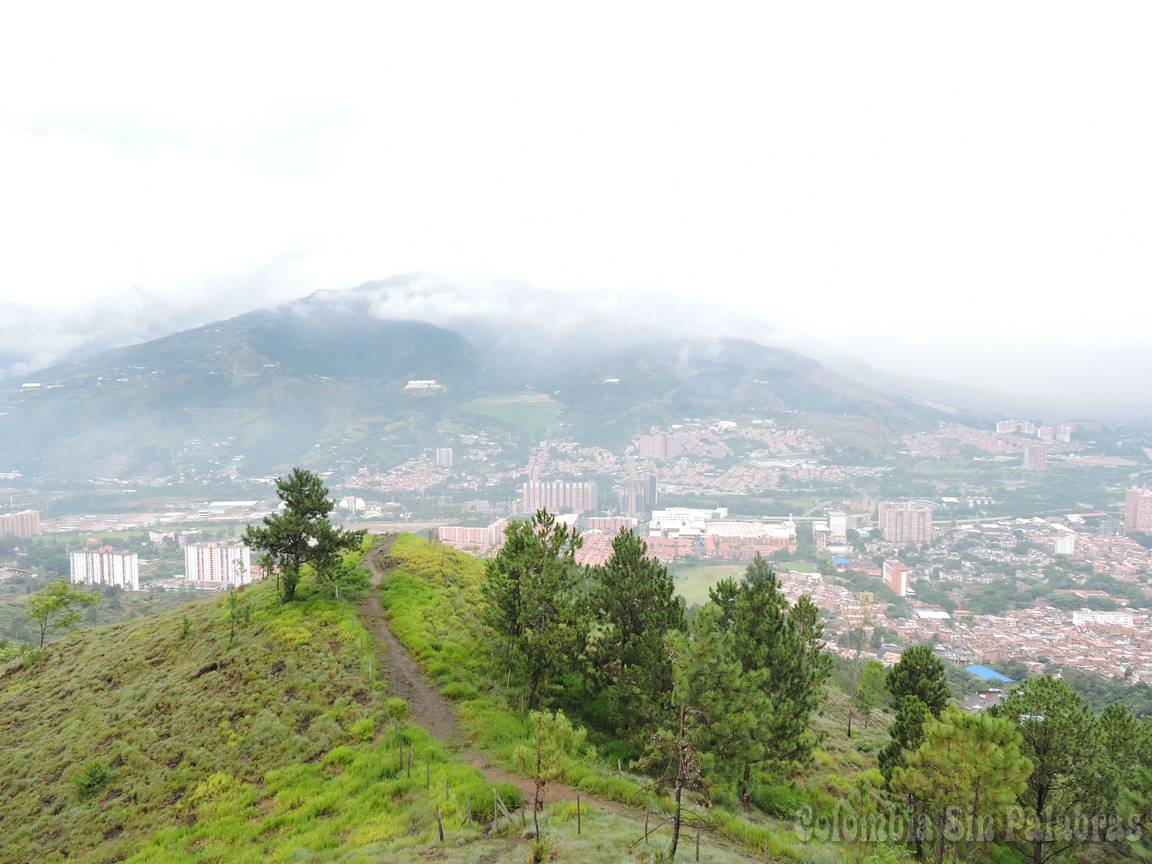 vista desde el cerro quitasol parte norte