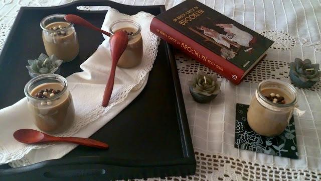 Crema vasitos cappuccino capuchino soja caramelo sin horno facil rapido postre