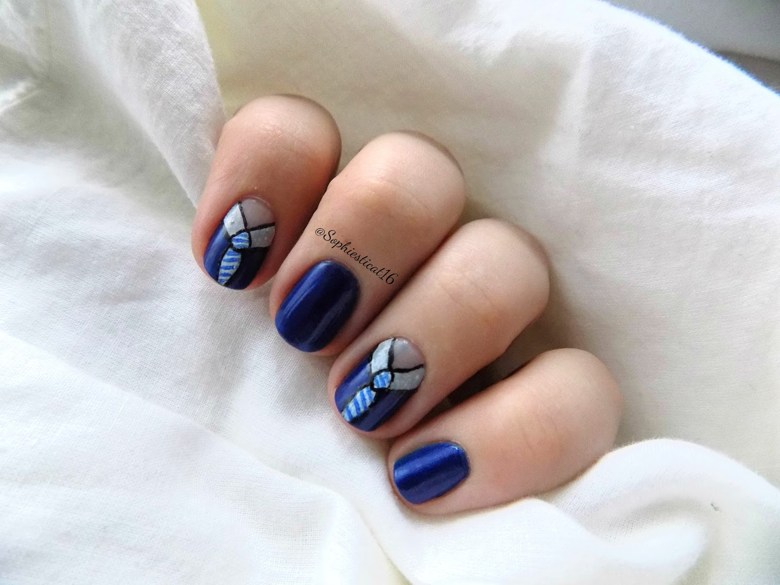 Creative Nails Collab Something Masculine Sophie S Nail Art