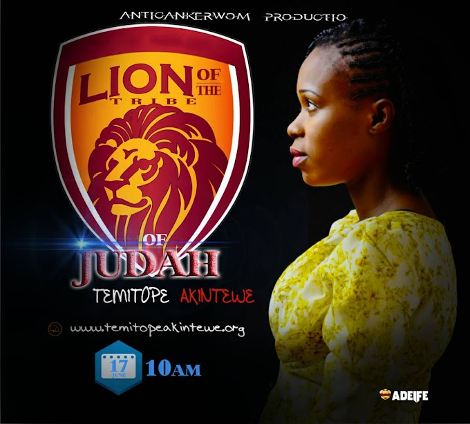NEW MUSIC: TEMITOPE AKINTEWE - LION OF THE TRIBE OF JUDAH