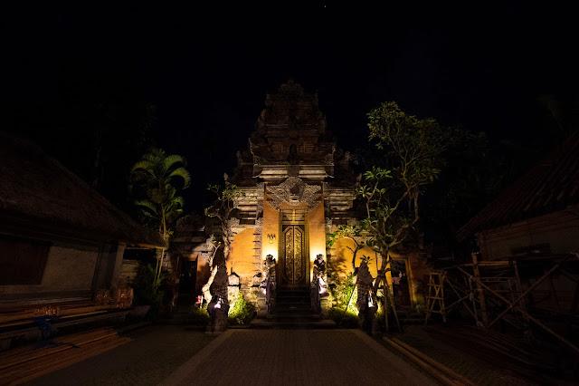 Palazzo di Ubud-Bali