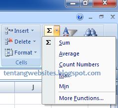 Cara Menjumlahkan Angka otomatis di Excel