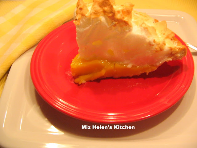 Lemon Meringue Pie at Miz Helen's Country Cottage