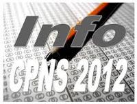 Info Pengumuman Kelulusan CPNS 2012